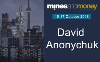 Managing Director, David Anonychuk, joins panel at Mines and Money, Toronto, October, 2018